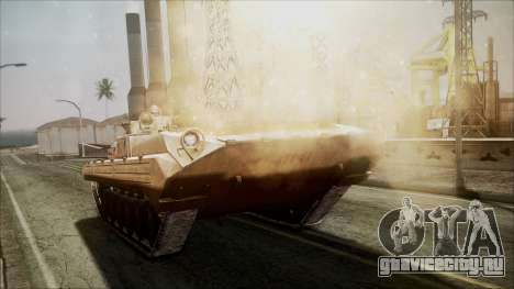 Call of Duty 4: Modern Warfare BMP-2 для GTA San Andreas вид справа