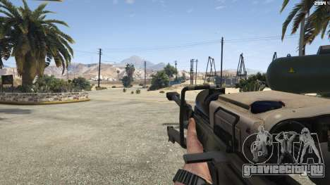 Halo UNSC: Sniper Rifle для GTA 5 пятый скриншот