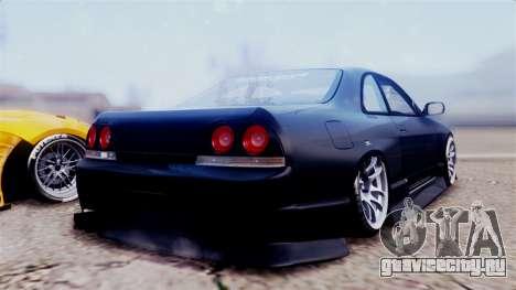 Nissan Skyline ER33 для GTA San Andreas вид слева