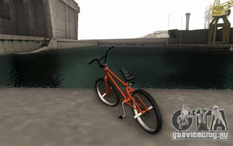 BMX HD для GTA San Andreas вид слева
