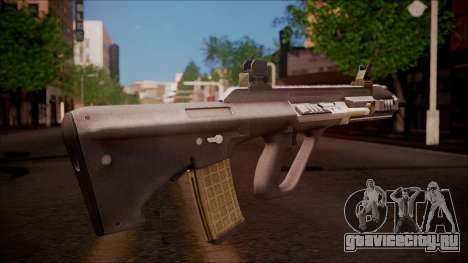 AUG A3 from Battlefield Hardline для GTA San Andreas второй скриншот