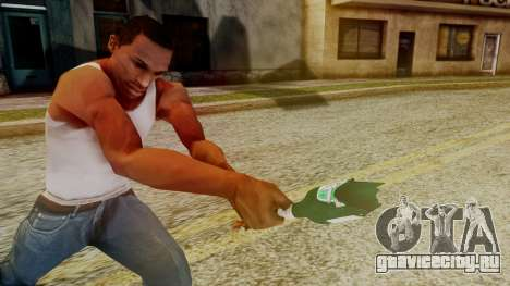 GTA 5 Broken Bottle v1 для GTA San Andreas третий скриншот