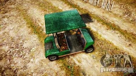 GTA V Nagasaki Caddy для GTA 4 вид справа
