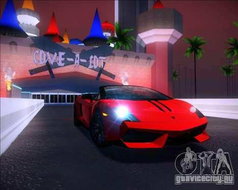 Sparkle ENB для GTA San Andreas второй скриншот