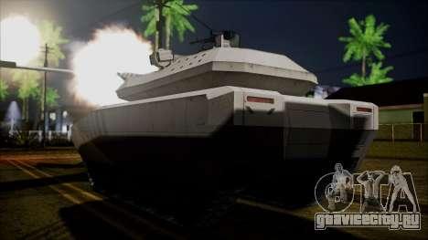 PL-01 Concept Desert для GTA San Andreas вид слева