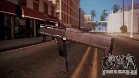 FMG-9 from Battlefield Hardline для GTA San Andreas второй скриншот