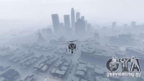 Singleplayer Snow 2.1 для GTA 5 седьмой скриншот