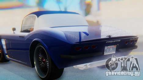 Invetero Coquette BlackFin v2 GTA 5 Plate для GTA San Andreas вид сверху