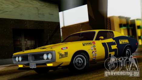 Dodge Charger Super Bee 426 Hemi (WS23) 1971 IVF для GTA San Andreas вид снизу