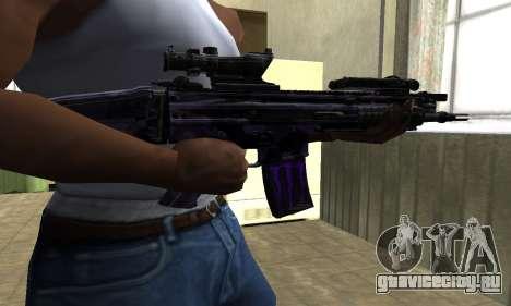 Blue Scan M4 для GTA San Andreas второй скриншот