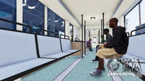 Новые текстуры трамваев для GTA 5 третий скриншот
