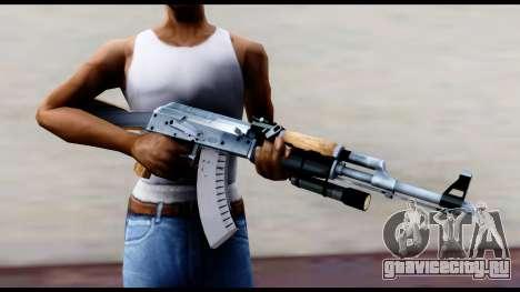 АК-47 из L4D2 для GTA San Andreas третий скриншот