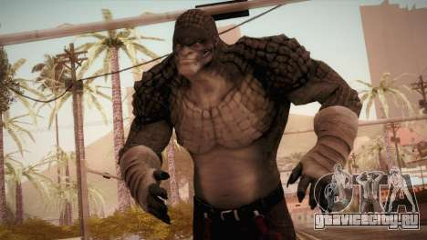 Killer Croc (Batman Arkham Origins) для GTA San Andreas