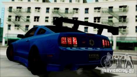 Ford Mustang GT Modification для GTA San Andreas вид слева