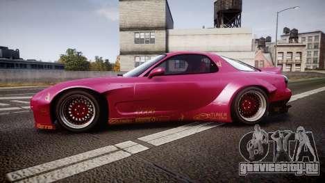 Mazda RX-7 RocketBunny [EPM] для GTA 4 вид слева