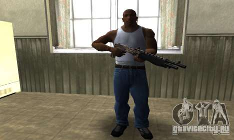 Brown Combat Shotgun для GTA San Andreas третий скриншот