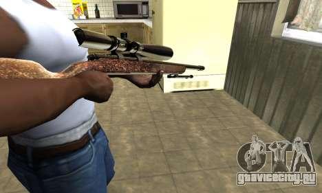 Gold Sniper Rifle для GTA San Andreas