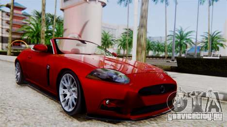 Jaguar XKR-S 2011 Cabrio для GTA San Andreas