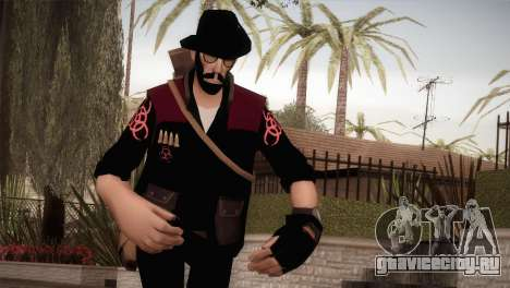 Christian Brutal Sniper from TF2 для GTA San Andreas