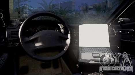 Chevrolet Impala FBI Slicktop для GTA San Andreas вид справа