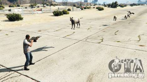 Animal Cannon v1.1 для GTA 5