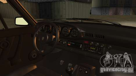 Porsche 911 Turbo (930) 1985 Kit C PJ для GTA San Andreas вид сзади