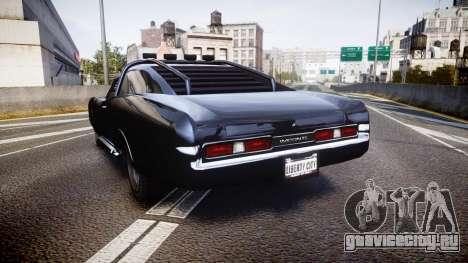 GTA V Imponte Duke O Death [HD Interior] для GTA 4 вид сзади слева