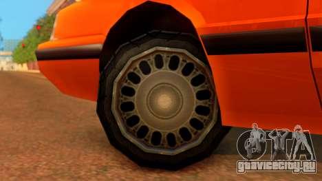 Taxi Intruder для GTA San Andreas вид сзади слева