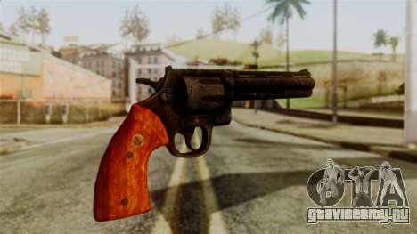 Colt Revolver from Silent Hill Downpour v2 для GTA San Andreas второй скриншот