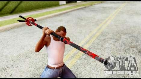Yukimura Spear для GTA San Andreas третий скриншот
