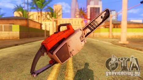 Atmosphere Chainsaw для GTA San Andreas второй скриншот