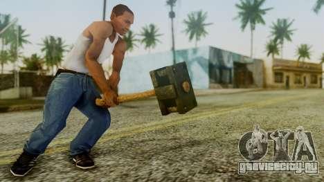 Bogeyman Hammer from Silent Hill Downpour v1 для GTA San Andreas третий скриншот