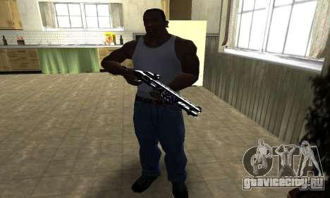 Oval Shotgun для GTA San Andreas третий скриншот
