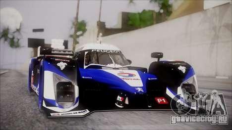 Peugeot Sport Total 908 Autovista для GTA San Andreas вид слева