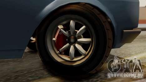 Vulcar Warrener GT 1500 (CT1) для GTA San Andreas вид сзади слева
