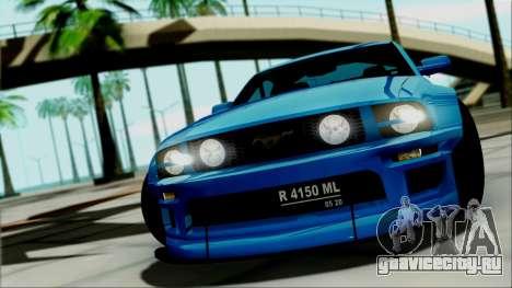 Ford Mustang GT Modification для GTA San Andreas вид справа