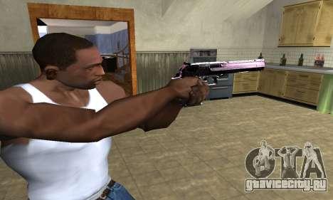 Purple Deagle для GTA San Andreas второй скриншот