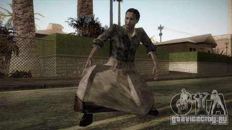 RE4 Maria without Kerchief для GTA San Andreas