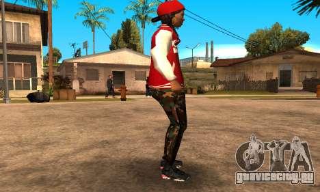Army Girl для GTA San Andreas второй скриншот