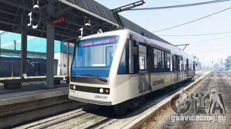 Новые текстуры трамваев для GTA 5