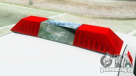 Premier Ambulance для GTA San Andreas вид сзади