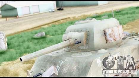 M4 Sherman 75mm Gun Urban для GTA San Andreas вид справа