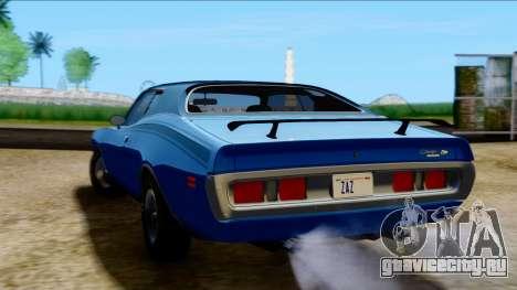 Dodge Charger Super Bee 426 Hemi (WS23) 1971 PJ для GTA San Andreas вид слева