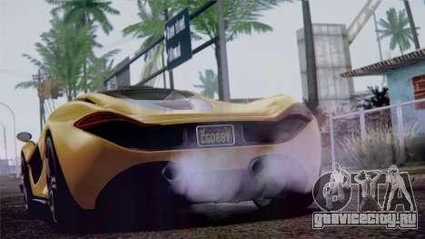GTA 5 Progen T20 IVF для GTA San Andreas вид справа