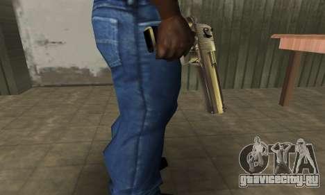 Full of Gold Deagle для GTA San Andreas второй скриншот