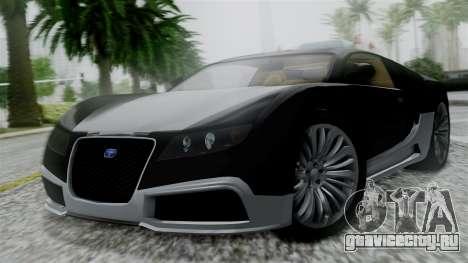 Truffade Adder Hyper Sport для GTA San Andreas