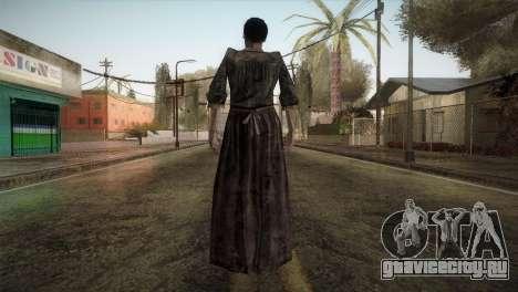 RE4 Maria without Kerchief для GTA San Andreas третий скриншот