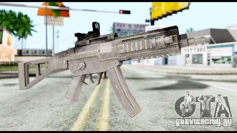 MP5 from Resident Evil 6 для GTA San Andreas