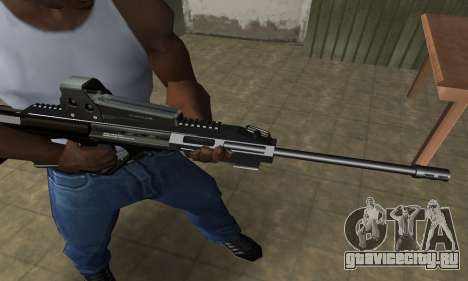 Brown AUG для GTA San Andreas второй скриншот