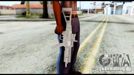 MP5 from Resident Evil 6 для GTA San Andreas третий скриншот